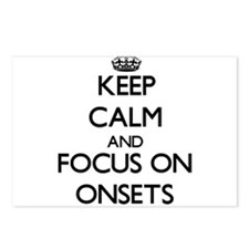 Keep Calm and focus on On Postcards (Package of 8)