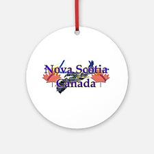 Nova Scotia Ornament (Round)