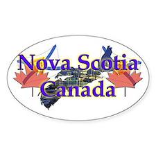Nova Scotia Oval Decal
