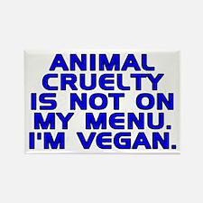 Animal cruelty - Rectangle Magnet