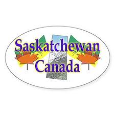 Saskatchewan Oval Decal