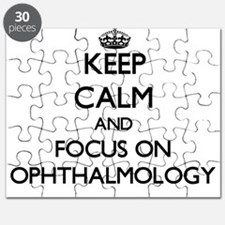 Keep Calm and focus on Ophthalmology Puzzle