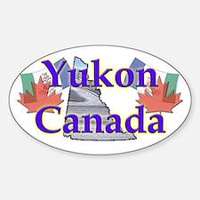 Yukon Oval Decal