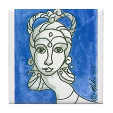 Goddess 7 Tile Coaster
