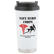 Navy Nurse Corps reaper Travel Mug