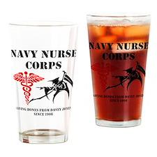 Navy Nurse Corps reaper Drinking Glass
