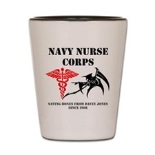 Navy Nurse Corps reaper Shot Glass
