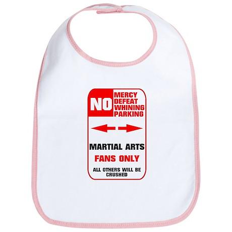 NO PARKING Martial Arts Bib