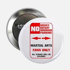 "NO PARKING Martial Arts 2.25"" Button (10 pack)"