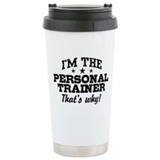 Cute Personal trainer Travel Mug
