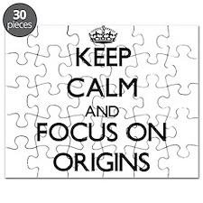 Keep Calm and focus on Origins Puzzle