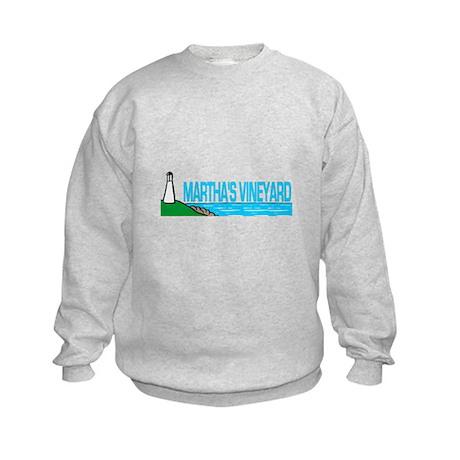 Martha's Vineyard Lighthouse Kids Sweatshirt
