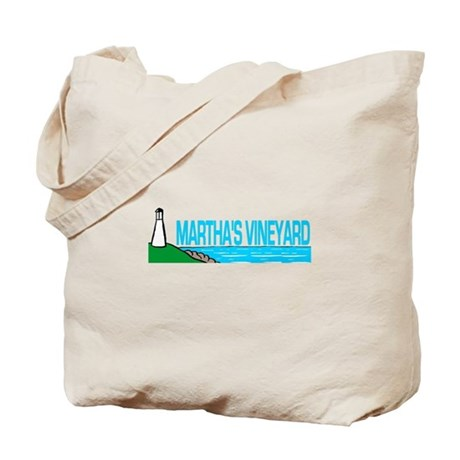 Martha's Vineyard Lighthouse Tote Bag