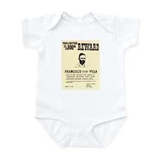 Wanted Pacho Villa Infant Bodysuit