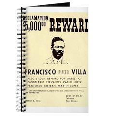 Wanted Pacho Villa Journal