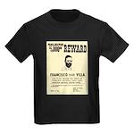 Wanted Pacho Villa Kids Dark T-Shirt