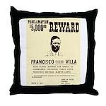 Wanted Pacho Villa Throw Pillow