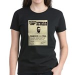 Wanted Pacho Villa Women's Dark T-Shirt