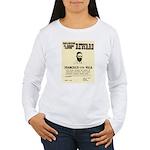 Wanted Pacho Villa Women's Long Sleeve T-Shirt