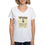 Wanted Pacho Villa Women's V-Neck T-Shirt