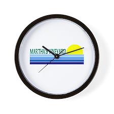 Martha's Vineyard Wall Clock