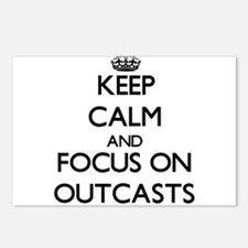 Keep Calm and focus on Ou Postcards (Package of 8)