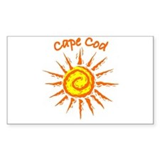 Cape Cod Rectangle Decal