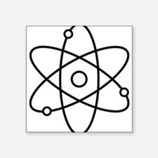 Atom Planetary Model Sticker