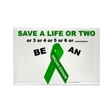 Save A Life Or Two Rectangle Magnet