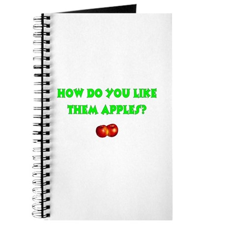 How Do You Like Them Apples Journal