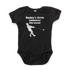 Daddys Little Hammer Thrower Baby Bodysuit
