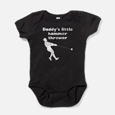Daddys Little Hammer Thrower Baby Bodysuit