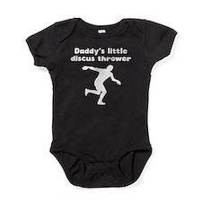 Daddys Little Discus Thrower Baby Bodysuit