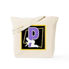 Naughty Initial design (P) Tote Bag