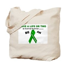 Save A Life Or Two Tote Bag