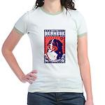 Bernese Mountain Dog! Jr. Ringer T-Shirt