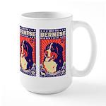 Obey the Bernese Mountain Dog! Large Mug