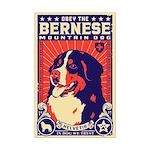 Bernese Mountain Dog! Mini Poster Print