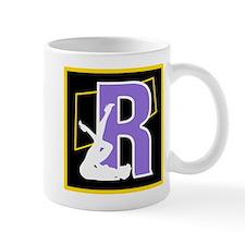 Naughty Initial Design (R) Mugs