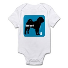 iWoof Shar-Pei Infant Bodysuit