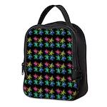 Painted Turtles Neoprene Lunch Bag