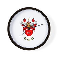 FRYE Coat of Arms Wall Clock