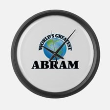 World's Greatest Abram Large Wall Clock
