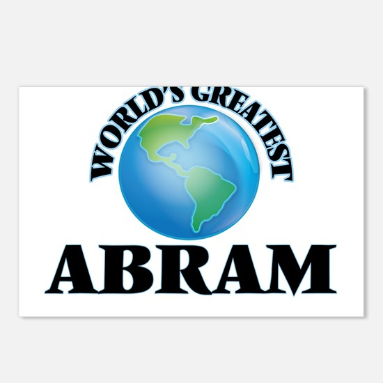World's Greatest Abram Postcards (Package of 8)