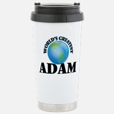 World's Greatest Adam Stainless Steel Travel Mug