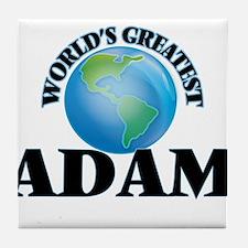 World's Greatest Adam Tile Coaster