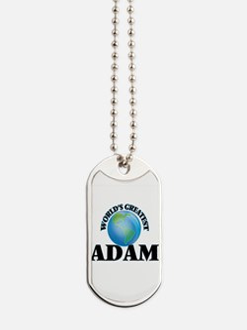 World's Greatest Adam Dog Tags