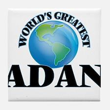 World's Greatest Adan Tile Coaster