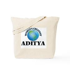 World's Greatest Aditya Tote Bag