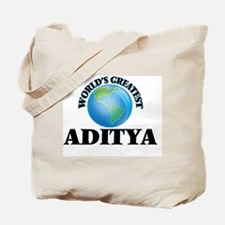 World's Greatest Aditya Tote Bag